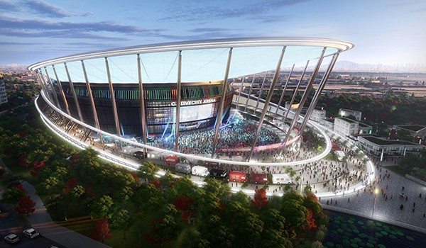[Rendering of CJ LiveCity provided by CJ Group]