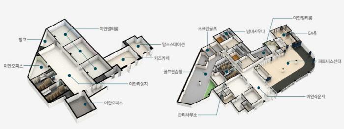 이안 그랑센텀 천안 커뮤니티시설 모습 [자료 = 대우산업개발]