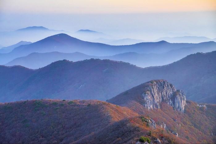 영남알프스 가지산 가을 풍경. [사진 제공 = 울산시청]