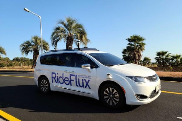 RideFlux Fahrzeug