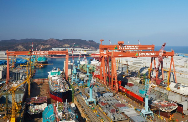 [Photo by Hyundai Heavy Industries]