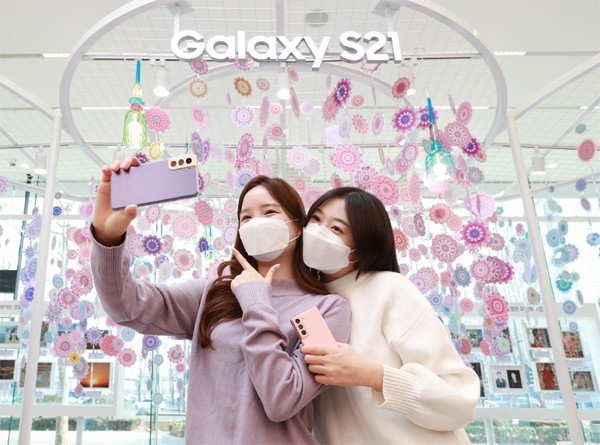 Galaxy S21 매출 '불타'… 출시 후 S20 대비 매출 30 % 증가