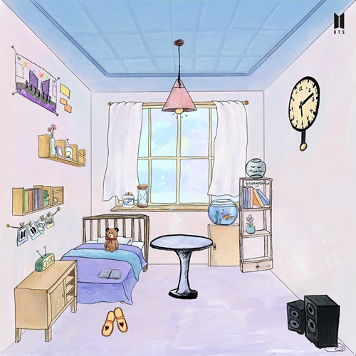 방탄 소년단 지민, 아미의 방 공개 … 맞춤형 테이블과 시계 포인트