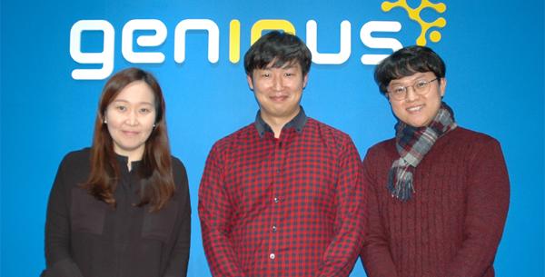 왼쪽부터 �p나영 지�너�z 상무, �p�~남·��] 책임연�岳�.