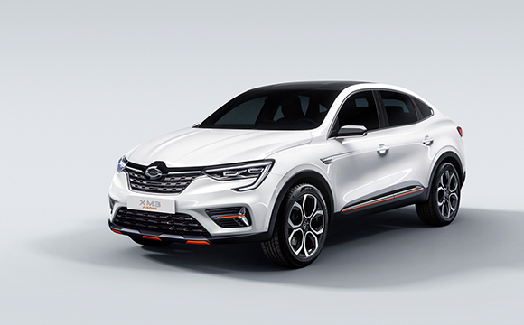 XM3. [Photo provided by Renault Samsung Motors]