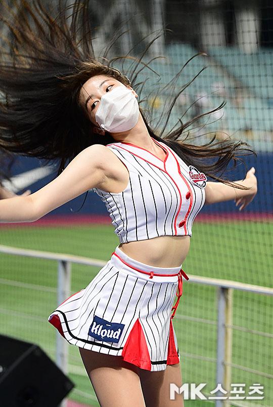 치어리더 안지현 '머리카락을 날리며' [MK포토]