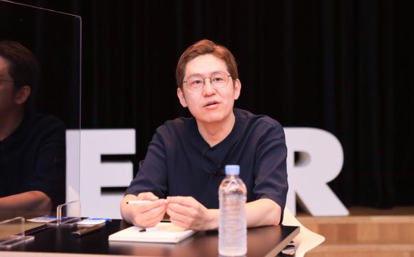 Naver Webtoon CEO Kim Jun-koo. [Photo by Naver Webtoon]
