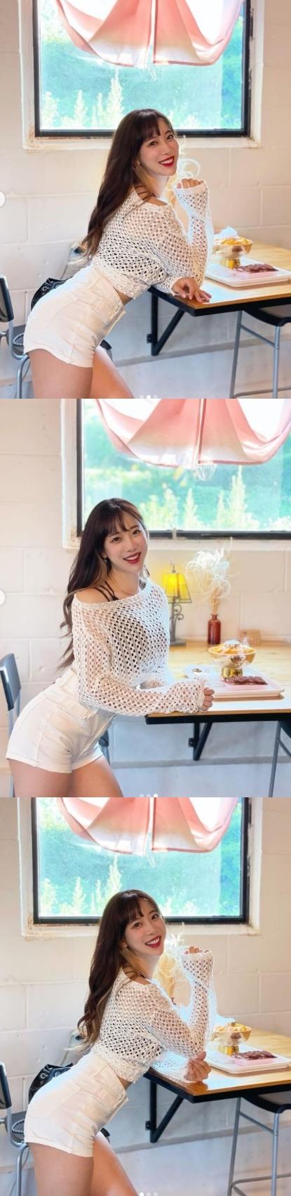 김한나 치어리더, S라인 몸매의 정석 [똑똑SNS]