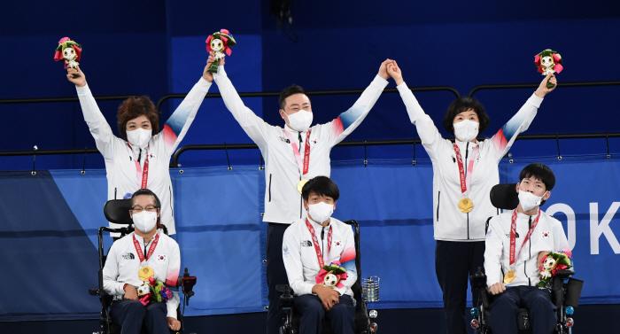 2020 도쿄 패럴림픽 보치아 국가대표 9회 연속 금메달 획득