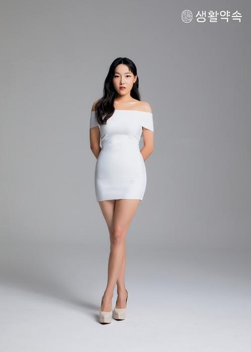 이은지, 크롭티에 밀착 드레스까지…광고 컷 공개
