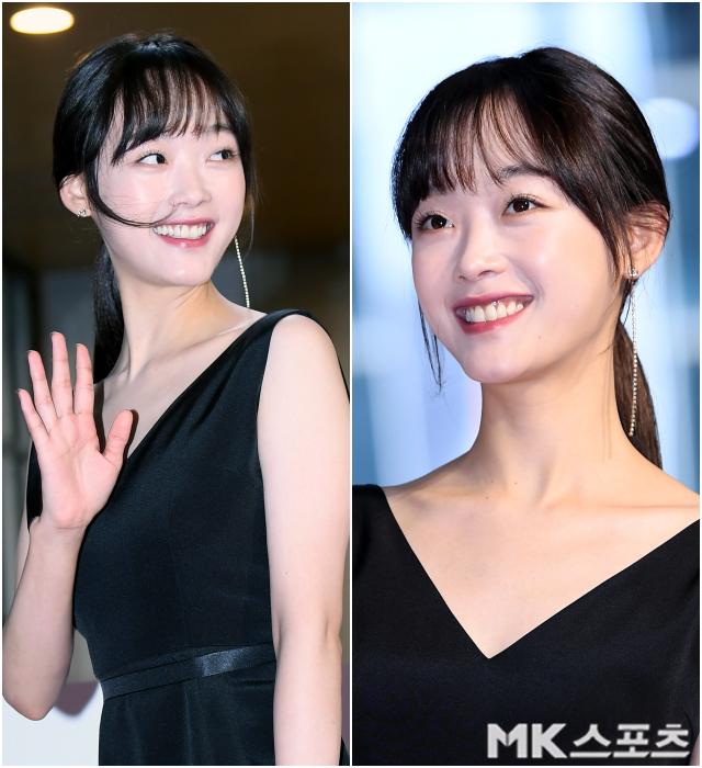 '오징어 게임' 트레이닝복 벗은 이유미, 풋풋한 청순함' [MK화보]