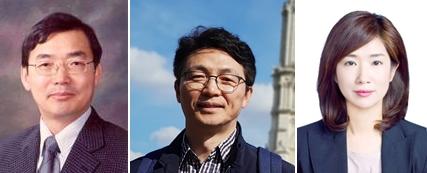 Professor Sung Baek-ling, Yonsei University (left), Professor Kim, [한국연구재단 제공]