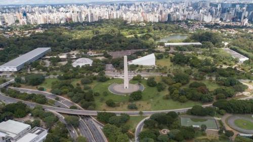 상파울루 시내 이비라푸에라 공원