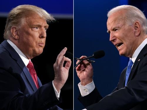 """트럼프·바이든 코로나 공방…""""의료진 돈벌이"""" vs """"백기투항""""(종합)"""