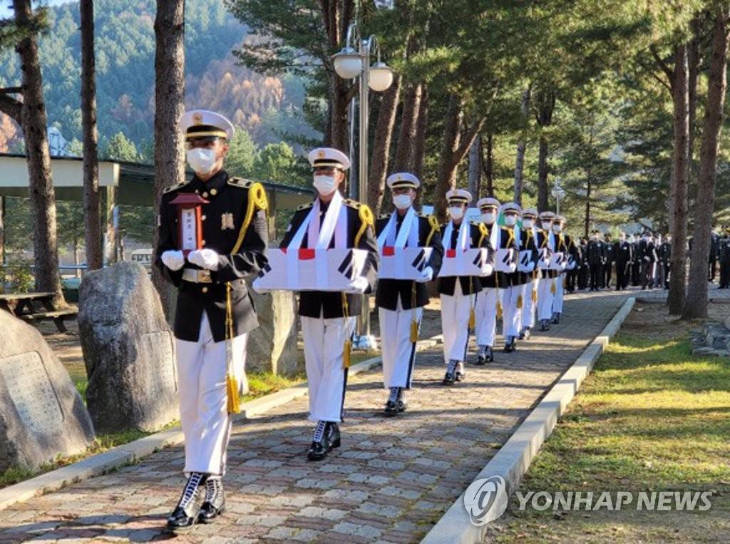 육군 2군단 6·25 전사자 합동영결식 엄수