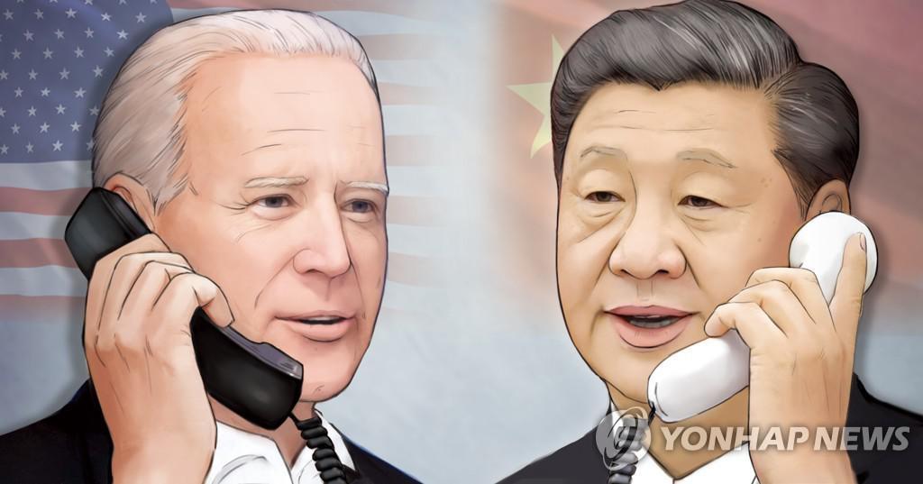 """중국 언론 """"바이든, 섣달 그믐 날 인사로 중국인들에게 호의를 표하다"""""""