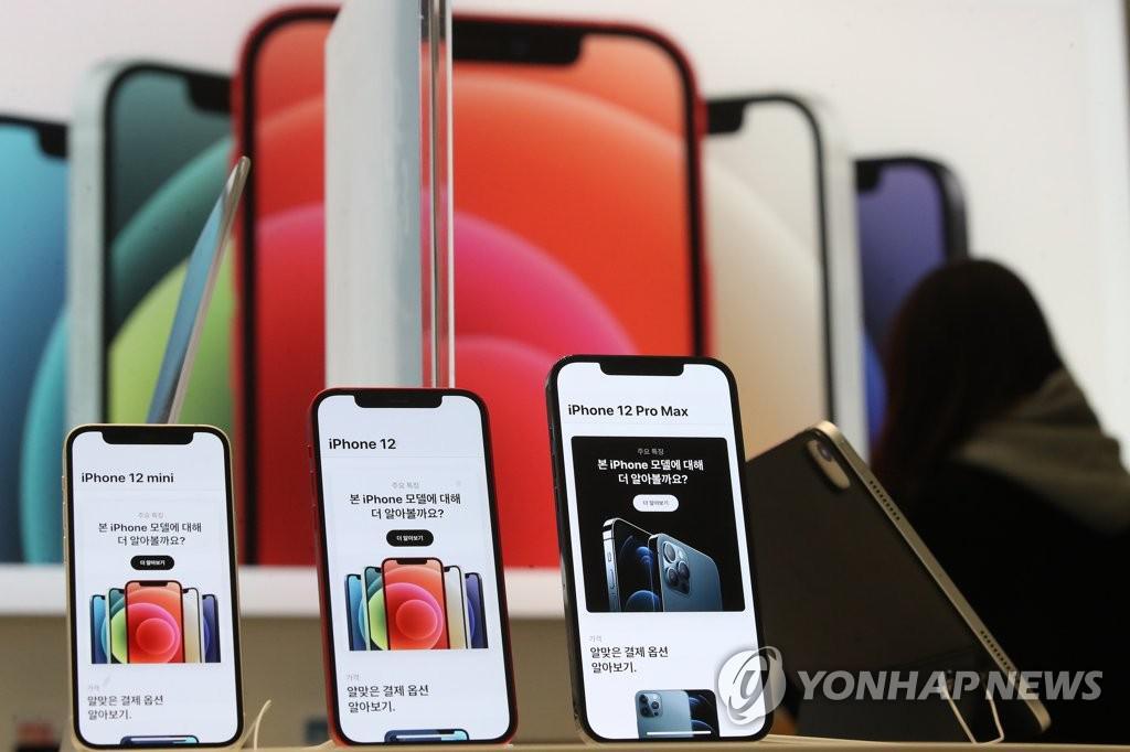 아이폰 12 출시 후 3 개월 만에 120 만대 이상 팔린 것 같다