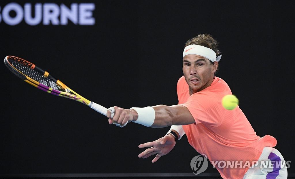 나달, 호주 오픈 테니스 16 강 …`메이저 최다 우승 외모`(전체)