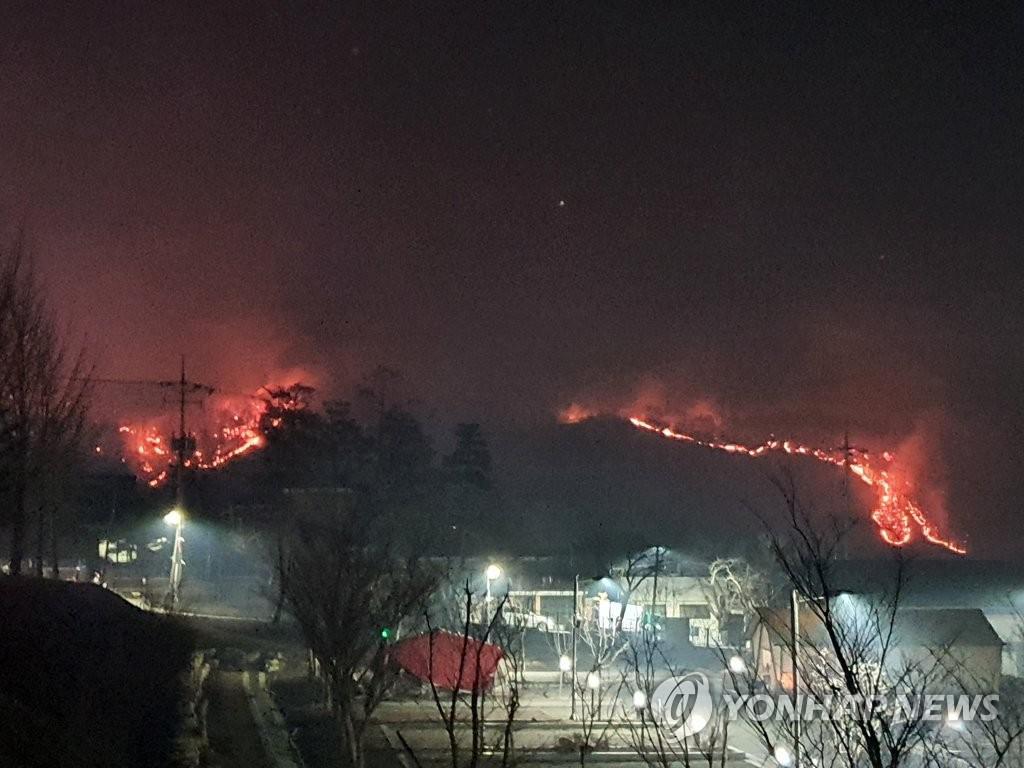 안동 · 예천 서 산불이 바람에 퍼진다… 하룻밤 확산 차단 집중 (총 3 건)
