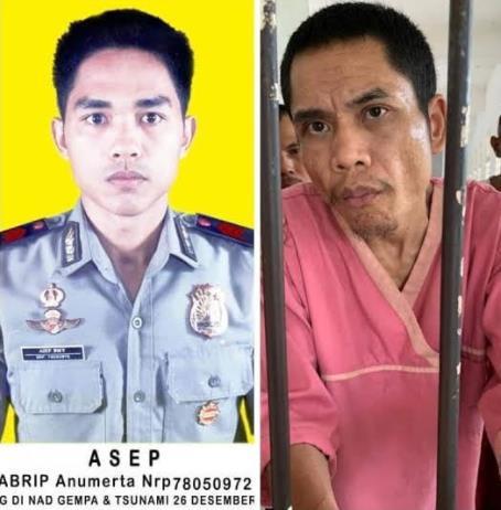 """17 년 만에 쓰나미 정신 병원에서 실종 된 인도네시아 경찰? … """"그가 맞아"""""""
