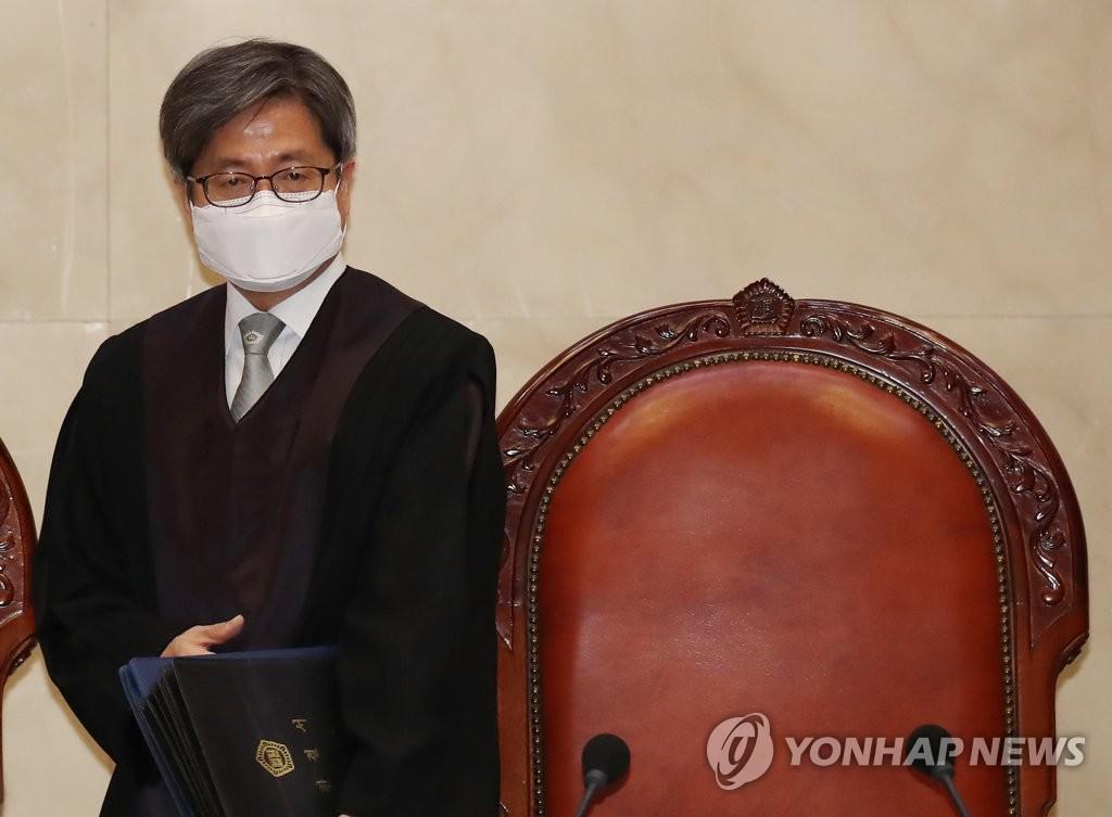 [재산공개] 김명수 대법원장 11 억원 … 선임 판사 평균 37 억원