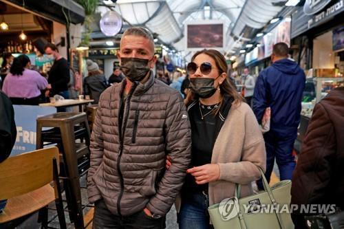 """이스라엘 검역관 """"다음주에 야외 마스크 의무 해제"""""""