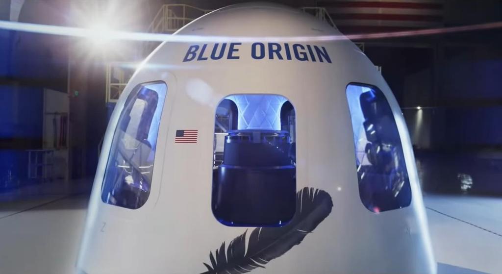 블루오리진의 우주여행 캡슐. [출처=블루오리진 홈페이지. 재배부 및 DB 금지]