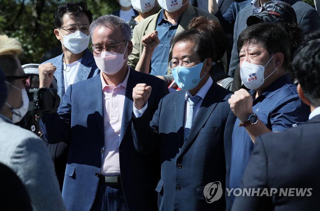 Hong Jun-pyo shouting fighting for Imjingakseo