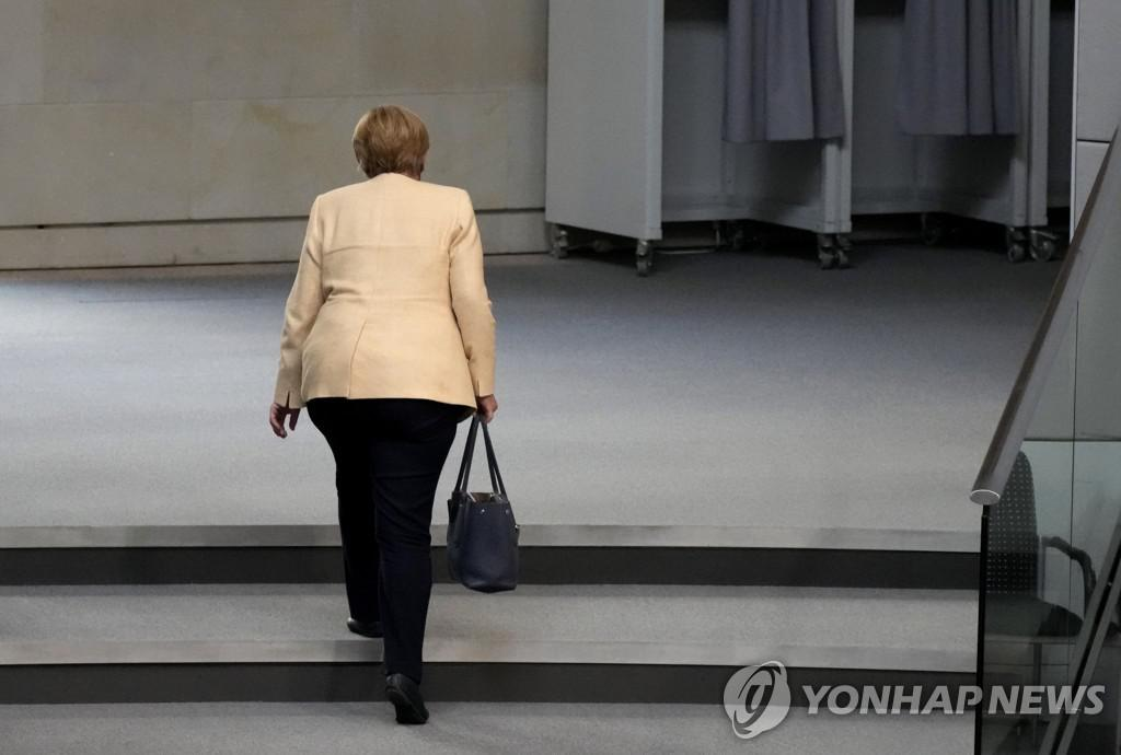 Chancellor Merkel leaving[AP=연합뉴스]