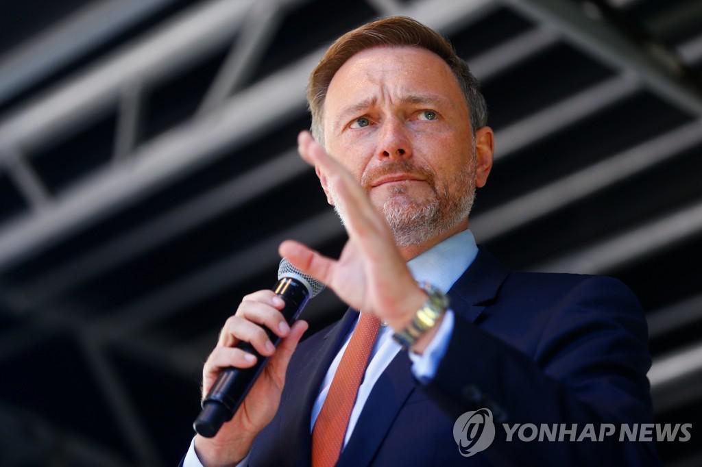 Christian Lindner, LDP Prime Minister and Leader[로이터=연합뉴스]