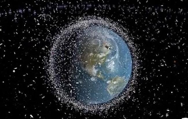 우주쓰레기 /출처=ESA